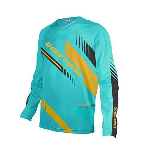 Uglyfrog 2019-2020 New Bike Wear Mens Rage MTB/Downhill Jersey Cycling/Motocross Mountain Bike Long Sleeve Shirt