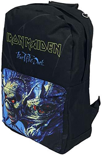Iron Maiden Backpack Bag Fear of the Dark Band Logo Pocket nieuw officieel