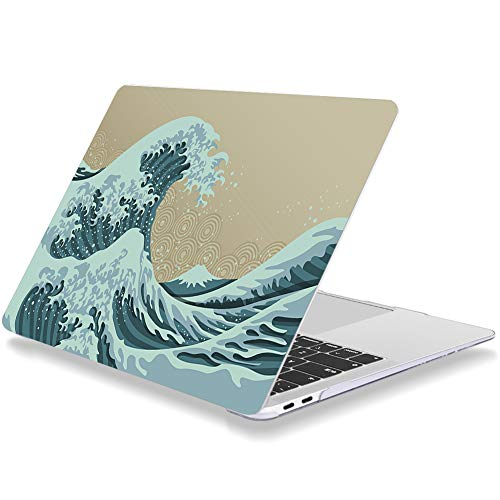 Laptop Case for Macbook Air 11 Inch A1370 A1465 Plastic Hard Shell Cover The Surge of the Sea