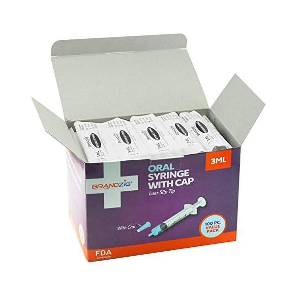 buy  3ml Syringe with Cap (100 Pack) | Oral Dispenser ... Diabetes Care