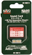 KAT222023 GE 3rd Generation Diesel Sound Card for Soundbox by Kato