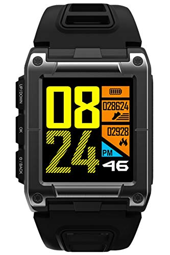 GPS Tracker Swim Watch Heart Rate Monitor Sports Fitness Tracker Pedometer Compass Outdoor Watch...