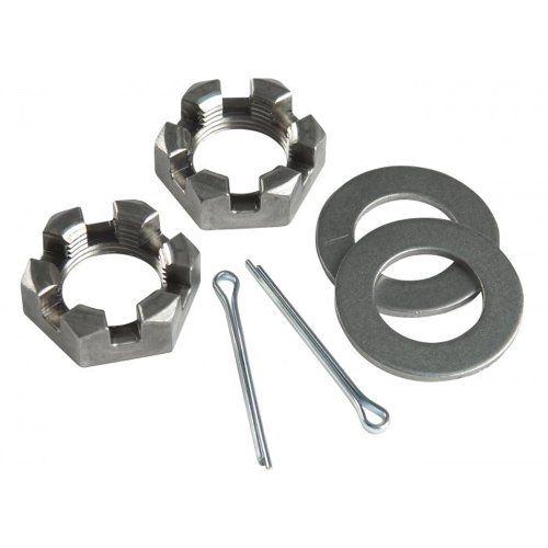 """CE Smith Trailer Nut 1"""" Washers & Cotter Pins Spindle"""