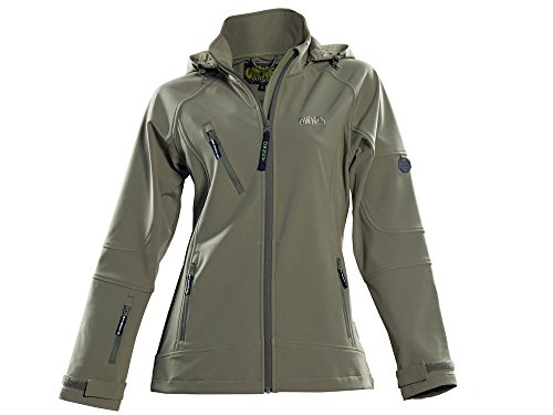 Owney Matu Hood Softshell Jacke light khaki -XXL-