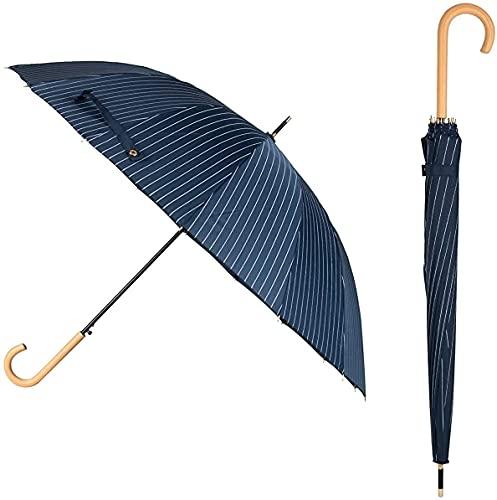 FH FRATELLO HOME - Travel Umbrella,Windproof Compact Folding Umbrella, Auto Open/Close Umbrella for Rain & Sun Automatic Open Stick J handle (1)