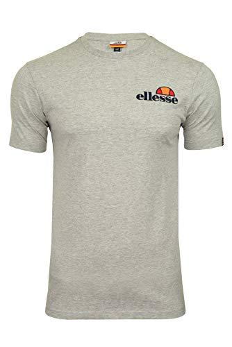 ellesse Voodoo T-Shirt Homme - Gris (Grey Marl) - S