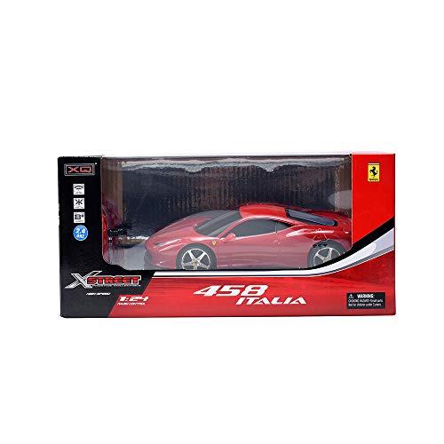 Rocco Giocattoli- Ferrari 458 Scala 1:24, XQRC24-3AA