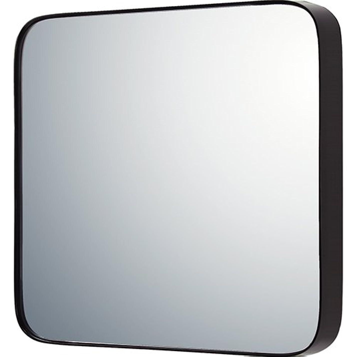 ロッカーブルゴーニュ太陽ユーパワー ミラー?鏡 マルチ 重さ:約5.1kg ラウンドコーナー (L) グロスブラック SM-09042