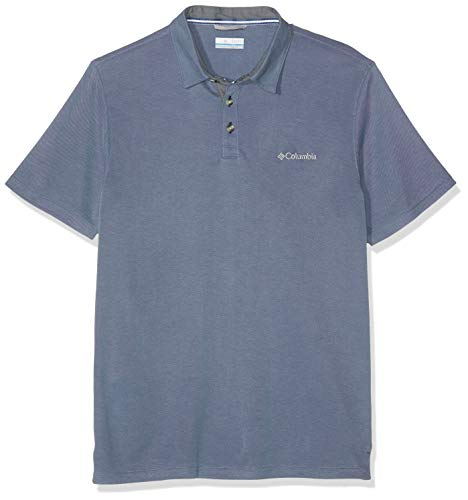Columbia Nelson Point Polo Homme Mountain FR : S (Taille Fabricant : S)