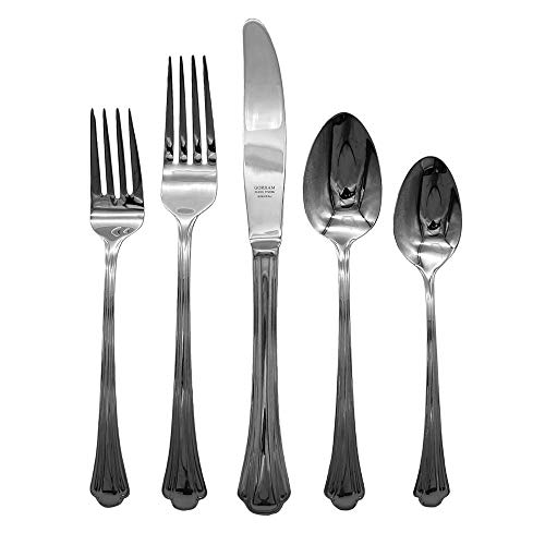 Gorham Nouveau 18/8 Stainless Steel 5pc. Place Setting (Service for One)