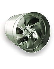 Axiale buisventilator Ø 250 mm 1000 m³/h buisventilator ventilator hoge druk ventilator afvoerlucht blazer metaal radiale ventilator