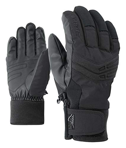 Ziener Gloves Ginom Gants de Ski pour Homme Taille Unique Noir
