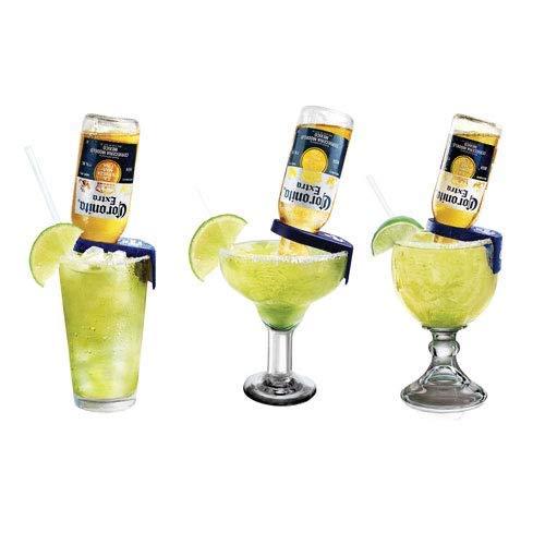 Corona-Rita Margarita-Halter, Gelb/Blau, 4 Stück gelb