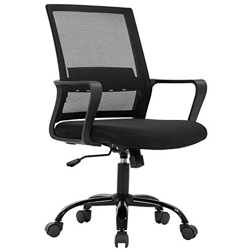 Home Office Chair Ergonomic Desk Chair Mid-Back Mesh...