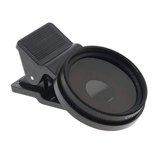 Flameer Filtro Polarizado Circular Eficiente Fino Da Lente De 37mm Para O Telefone