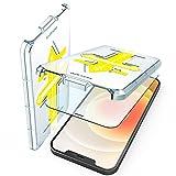 Red X EASY APP 2in1 Pellicola in Vetro Temperato Compatibile con iPhone 12...