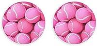 面白いツールの栓抜き、ワインの栓抜き、冷蔵庫の磁石、明るいピンクのテニスボール片手栓抜き