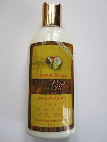 Bungalow Glow Premium Organics Coconut Sunrise Coconut Butter Body Lotion by Bungalow