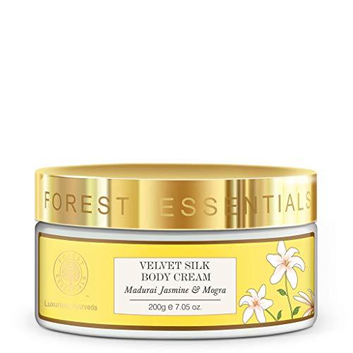 Forest Essentials Madurai Jasmine and Mogra Velvet Silk Body Cream