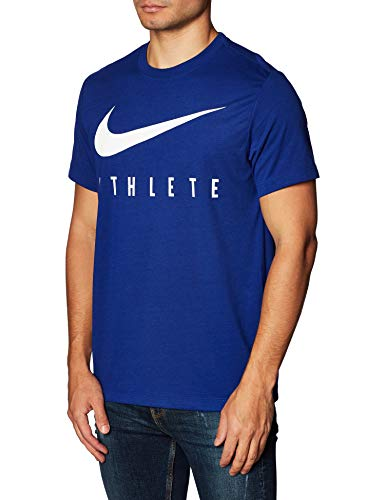NIKE M Nk Dry tee Db Athlete Camiseta de Manga Corta, Hombre, Deep Royal Blue