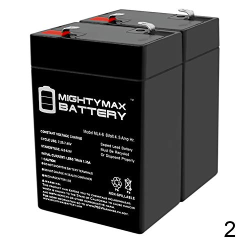 Mighty Max Battery 6V 4.5AH Battery for Best Choice Kid Motorcycle Model SKY1785-2 Pack Brand Product