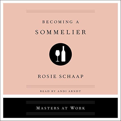 Becoming a Sommelier audiobook cover art