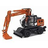 1/50 完成品 for Hitachi ZX140W-6 Hydraulic excavator ダイキャスト モデル 掘削機