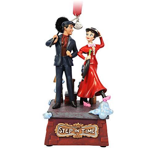 Disney Mary Poppins and Bert Singing Living Magic Sketchbook Ornament