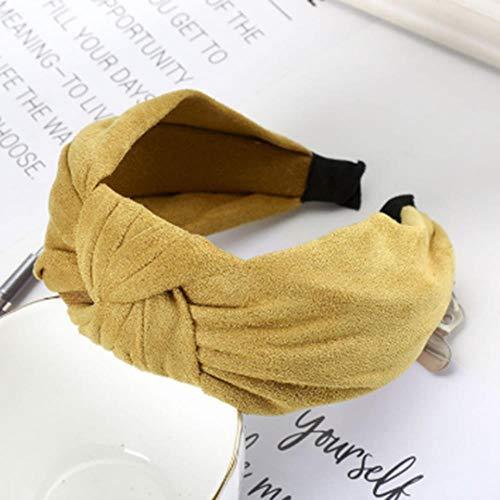 gao Zachte Bezel Haar Decoratie Bandbreedte Haar Tie Knot Hoofdband Haaraccessoires Voor Vrouwen Meisje