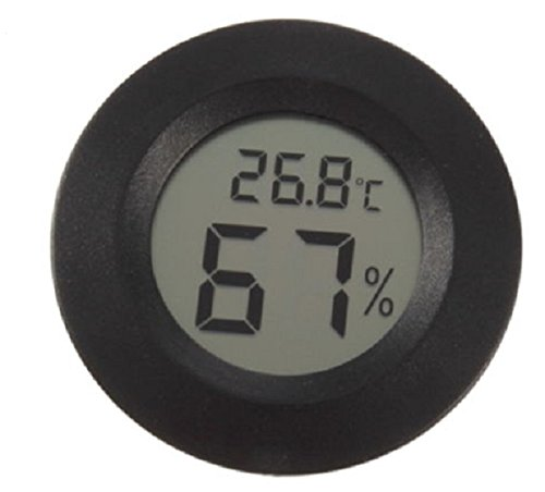 MJJEsports LCD Mini Celsius thermometer digitale hygrometer