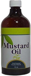Mustard Oil (Brassica Juncea Seeds Oil) 16 (Oz)