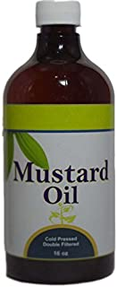 Mustard Oil (Brassica Juncea Seeds Oil) 16 (Oz)