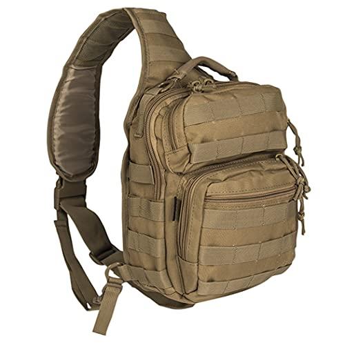 Miltec USA Shoulder Combat Bag | Tactical Combat Small Rucksack, Beige