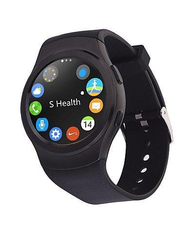 G3Full Circular Bluetooth Smart reloj MTK2502SIM GPRS moda personalizada Smartwatch para Apple Iphone Teléfono Android