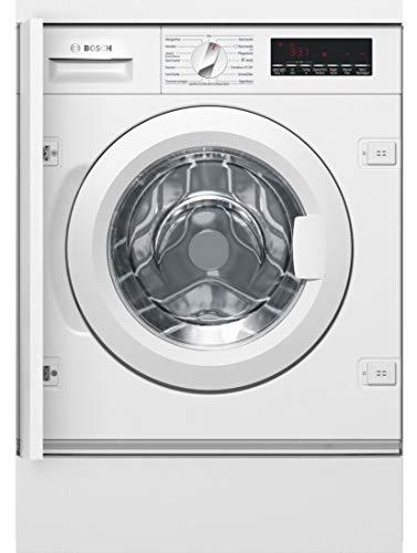 Bosch WIW28440 Serie 8 Einbau-Waschmaschine Frontlader / A+++ / 137 kWh/Jahr / 1355 UpM / 8 kg / Weiß / Nachlegefunktion / TimeLight