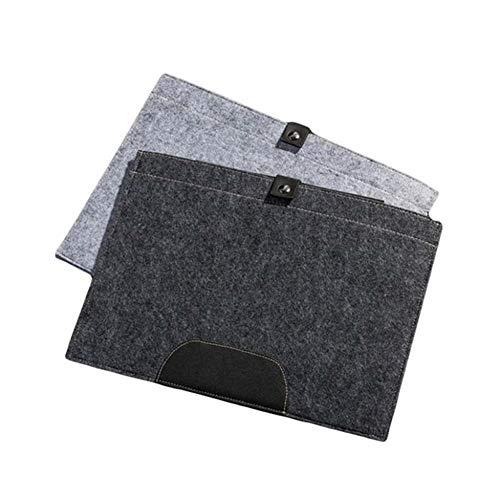 BAWAQAF Folder,A4 Felt File Folder,Portable Folder Organizer,Felt Holder Document Carrier,Expanding Handbag,for Office School