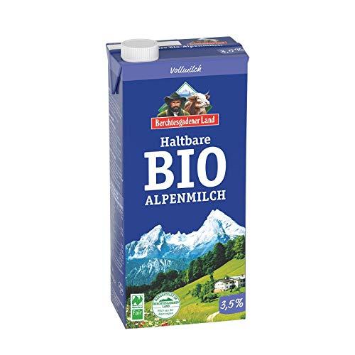 Berchtesgadener Land Bio Haltbare Bio-Alpenmilch 3,5% Fett (1 x 1 l)