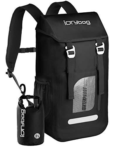 IDRYBAG Dry Bag Backpack Waterproof 25L Floating Dry Backpack Water Sport Marine Waterproof Backpack Dry Bag