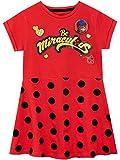 Miraculous - Robe - Ladybug - Fille - Rouge - 7-8 Ans