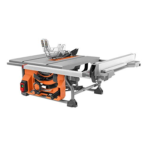 RIDGID 15 Amp 10 in. Table Saw with Folding Stand