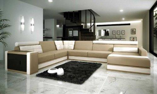 VIG Furniture VGEV-SP-11 Divani Casa 11 - Modern Bonded Leather  Sectional
