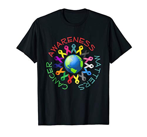 All Cancer Ribbons for All Cancer Awareness T-Shirt