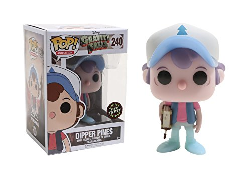 FunKo POP! Animation Gravity Falls Dipper Pines 3.75' VARIANT CHASE Vinyl Figure