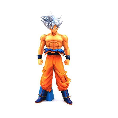 QI-shanping Dragon Ball Anime Spielzeug Dragon Ball Schlüssel Egoismus Goku Modell PVC Dekoration Junge Geschenk Dragon Ball Action Figure