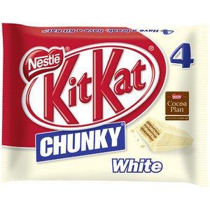 KitKat 12155752 KitKat Chunky White 4er-Pack