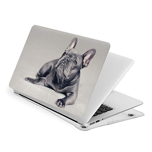 Ohclearlove MacBook Pro 13 Inch Case Frenchie Dog Hard Laptop Shell Case Cute Protective Laptop Cover