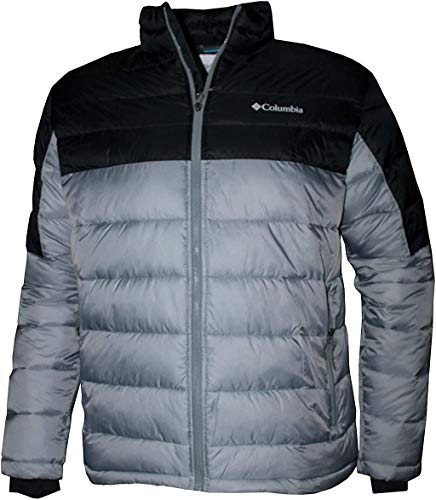 Columbia Men's New Discovery II Insulated Puffer Jacket (Grey Ash, S)