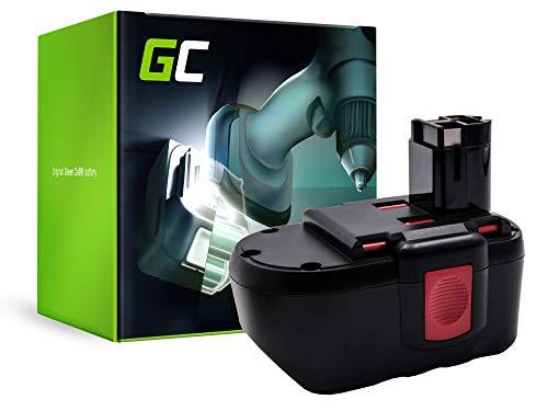 GC (3Ah 24V Ni-MH celdas) Batería para Bosch PSB 24VE-2 de Herramienta Eléctrica