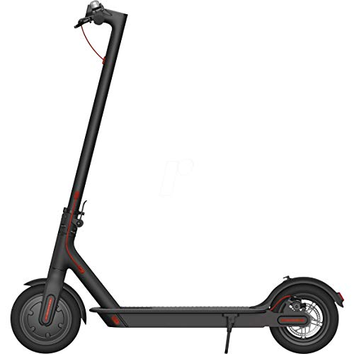 Xiaomi Mi Electric Scooter Folding Electric Scooter, 30 Km of Autonomy, Speed ​​up to 25 Km / h, Italian Version, Black