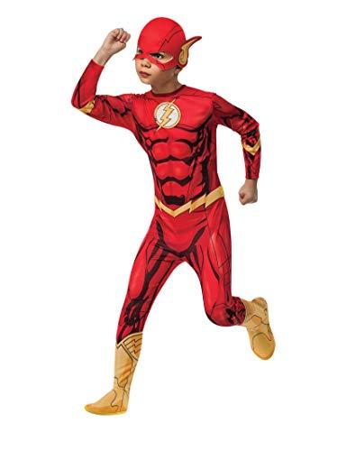Rubie's 3881332 - The Flash DC Comics Classic Child, M, 5-7 Jahre